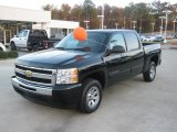 2010 Black Granite Metallic Chevrolet Silverado 1500 LT Crew Cab #41068406
