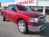 2011 Deep Cherry Red Crystal Pearl Dodge Ram 1500 Big Horn Quad Cab #41068266