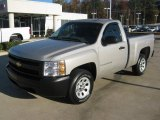 2007 Chevrolet Silverado 1500 Work Truck Regular Cab Data, Info and Specs