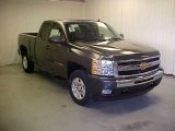 2011 Taupe Gray Metallic Chevrolet Silverado 1500 LT Extended Cab #41068458