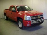 2011 Victory Red Chevrolet Silverado 1500 LT Extended Cab #41068459