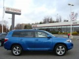 2008 Blue Streak Metallic Toyota Highlander Sport 4WD #41111962