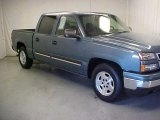 2006 Blue Granite Metallic Chevrolet Silverado 1500 LT Crew Cab #41112193