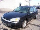 2005 Black Chevrolet Malibu Sedan #4088191