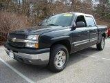 2005 Dark Gray Metallic Chevrolet Silverado 1500 LT Crew Cab 4x4 #4088300