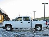 2006 Summit White Chevrolet Silverado 1500 LT Crew Cab 4x4 #41112221