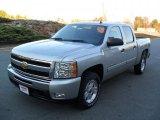 2011 Sheer Silver Metallic Chevrolet Silverado 1500 LT Crew Cab 4x4 #41112294