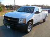 2011 Summit White Chevrolet Silverado 1500 Extended Cab #41112295