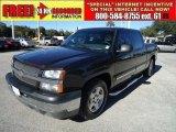 2005 Black Chevrolet Silverado 1500 LS Crew Cab #41112313