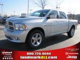 2011 Bright Silver Metallic Dodge Ram 1500 Sport Crew Cab #41111861