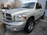 2008 Bright Silver Metallic Dodge Ram 1500 Sport Quad Cab 4x4 #41112327