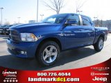 2011 Deep Water Blue Pearl Dodge Ram 1500 Sport Crew Cab #41111864