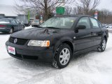 2000 Black Magic Volkswagen Passat GLS 1.8T Sedan #41111668