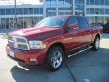 2009 Inferno Red Crystal Pearl Dodge Ram 1500 Laramie Crew Cab 4x4 #41112092