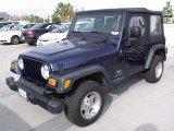 2004 Jeep Wrangler Patriot Blue Pearl