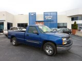 2004 Arrival Blue Metallic Chevrolet Silverado 1500 LS Regular Cab #41111901