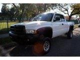 2001 Bright White Dodge Ram 1500 ST Club Cab 4x4 #41111926