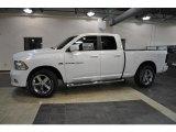 2011 Bright White Dodge Ram 1500 Sport Quad Cab #41111939