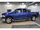 2011 Deep Water Blue Pearl Dodge Ram 1500 Big Horn Quad Cab #41111940