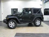 2011 Natural Green Pearl Jeep Wrangler Sport S 4x4 #41111941