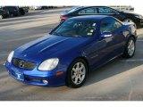 2003 Mercedes-Benz SLK Bahama Blue Metallic