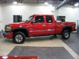 2006 Fire Red GMC Sierra 2500HD SLT Extended Cab 4x4 #41111944