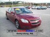 2008 Red Jewel Tint Coat Chevrolet Malibu LT Sedan #41112164