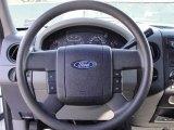 2005 Ford F150 XL SuperCab 4x4 Steering Wheel