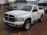 2003 Bright White Dodge Ram 1500 SLT Regular Cab 4x4 #41177722