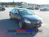 2008 Black Granite Metallic Chevrolet Malibu LT Sedan #41177486