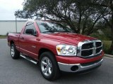 2008 Dodge Ram 1500 Inferno Red Crystal Pearl