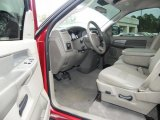 2008 Dodge Ram 1500 SLT Regular Cab Khaki Interior
