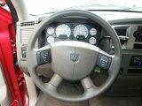 2008 Dodge Ram 1500 SLT Regular Cab Steering Wheel