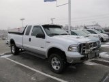 2005 Oxford White Ford F350 Super Duty Lariat SuperCab 4x4 #41177278