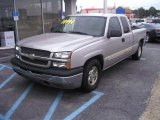 Silver Birch Metallic Chevrolet Silverado 1500 in 2004