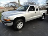 2003 Bright Silver Metallic Dodge Dakota Sport Club Cab 4x4 #41177536