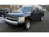 2007 Black Chevrolet Silverado 1500 LT Extended Cab 4x4 #41177093