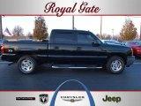 2005 Black Chevrolet Silverado 1500 Z71 Crew Cab 4x4 #41177130