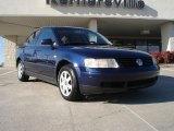 2000 Indigo Blue Pearl Metallic Volkswagen Passat GLS 1.8T Sedan #41177579