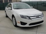 2011 White Platinum Tri-Coat Ford Fusion SE #41177361