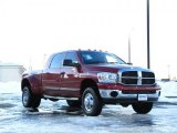 2008 Dodge Ram 3500 Inferno Red Crystal Pearl