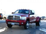 2007 Dodge Ram 3500 Inferno Red Crystal Pearl