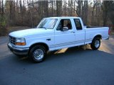 Oxford White Ford F150 in 1996