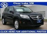 2011 Deep Black Metallic Volkswagen Tiguan SE #41178005