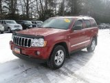 2006 Inferno Red Crystal Pearl Jeep Grand Cherokee Limited 4x4 #41177638