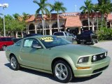 2006 Legend Lime Metallic Ford Mustang GT Premium Coupe #41177214