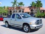 2005 Bright Silver Metallic Dodge Ram 1500 SLT Quad Cab #41177219