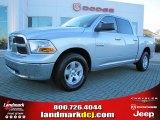 2009 Bright Silver Metallic Dodge Ram 1500 SLT Crew Cab #41237752