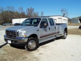 2004 Silver Metallic Ford F450 Super Duty XL Crew Cab 4x4 Dually #41238206