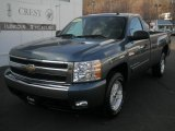 2007 Blue Granite Metallic Chevrolet Silverado 1500 LT Regular Cab #41237554